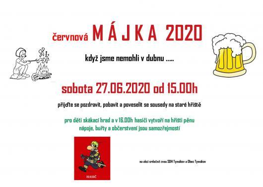 červnová Májka 2020